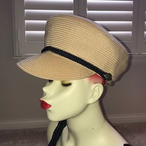 Vince Camuto braided  military  military cap